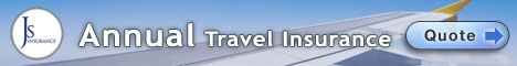 Annual Multi Trip Travel Insurance
