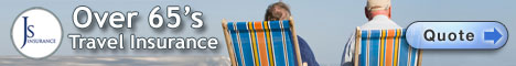 Over 65s Travel Insurance